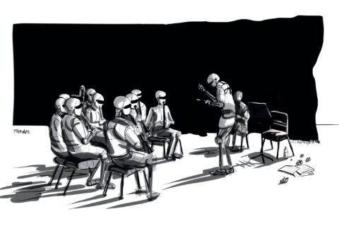 Orkiestra AI - Travus -Śmierć Internetu