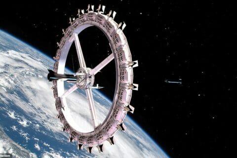 hotel w kosmosie