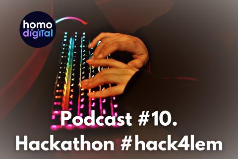 Podcast #10. #Hack4lem LEM o technologiiAwers korzyści i rewers nowej biedy