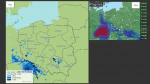 Mapa pogody meteo.org